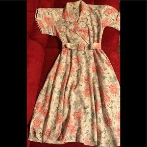 Vintage Dress Made In USA Stuart Alan Size 6P